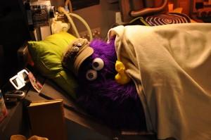 """Maik Evers als """"Furple"""" (Foto von Stefan Weski)"""